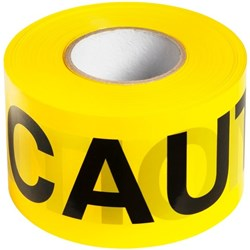 Caution Safety Tape Non Adhesive 100mm x 300m