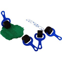 Paint & Dough Rollers Set 1 Blue, Pack of 4