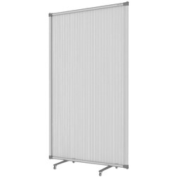 Boyd Visuals Freestanding Screen Partition 1500mm Frosted