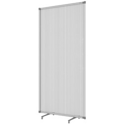 Boyd Visuals Freestanding Screen Partition 1800mm Frosted