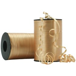 Crimped Curling Ribbon 5mmx500m Gold