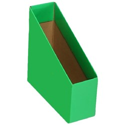 Marbig Magazine Box File, Small, Green, Pack of 5