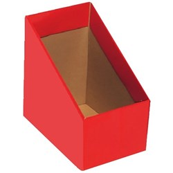 Marbig Magazine Box File, Large, Red, Pack of 5