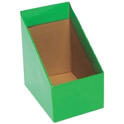 Marbig Magazine Box File, Large, Green Pack of 5