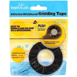 Whiteboard Line Gridding Tape 3.0mm x 15m