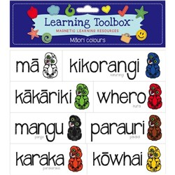 Learning Toolbox Magnets Maori Colours, Set of 8