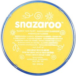 Snazaroo Face Paint 18ml Bright Yellow