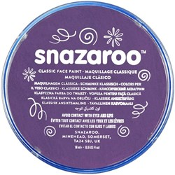 Snazaroo Face Paint 18ml Purple