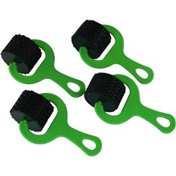 Paint & Dough Rollers Set 2 Green, Pack of 4
