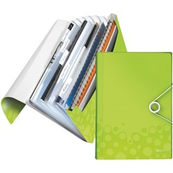 Leitz WOW Project Divider File A4 Green