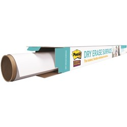 Post-it® Super Sticky Dry Erase Surface Whiteboard Film 1200x900mm