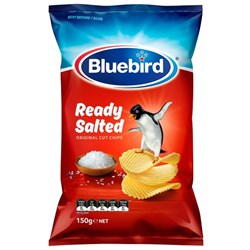 Bluebird Chips Original Ready Salted 150g
