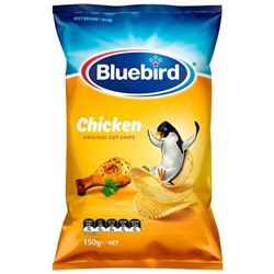 Bluebird Chips Original Chicken 150g