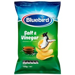 Bluebird Original Chips Salt & Vinegar 150g