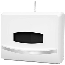 OfficeMax Slimline Hand Towel Dispenser Small White