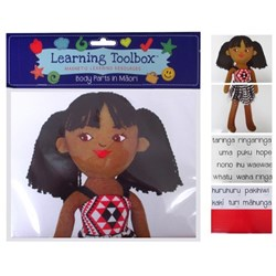 Learning Toolbox Magnets Maori Body Parts, Set of 34