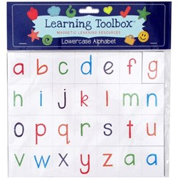 Learning Toolbox Magnets Letters Lower Case, Set of 56