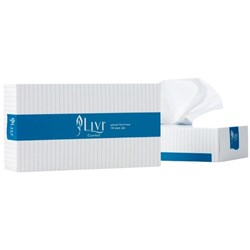 Livi Essential Facial Tissues 2 Ply, Pack of 100 Sheets