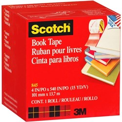 Scotch® 845 Book Repair Tape 102mm x 13.7m