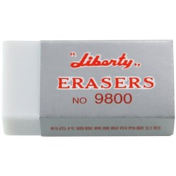 Liberty Plastic Eraser 50x24mm