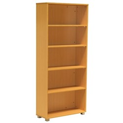 Accord Bookcase 1800mm Tawa