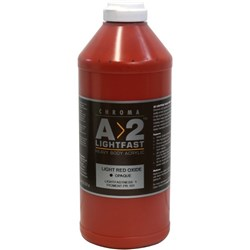 A2 Art Student Acrylic Paint 1 Litre Light Red Oxide