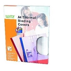 Ibico Thermal Binding Covers, 1.5mm, Pack of 25, White