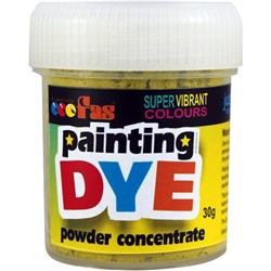 FAS Painting Dye 30g Yellow