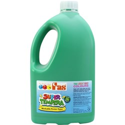 Fas Super Tempera Poster Paint 2 Litre Green