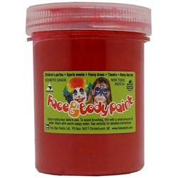 5 Star Face Paint 125ml Red