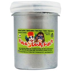 5 Star Face Paint 125ml Silver