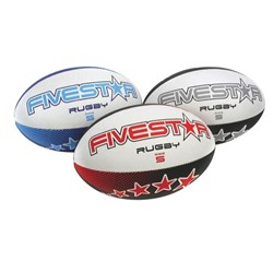 Five Star Rugby Ball Size 5