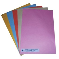 Newsprint Paper A2 Assorted Colours, Pack of 250