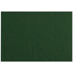 Textured A4 Binding Covers 300gsm, Green, Pack of 100
