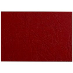 Textured A4 Binding Covers 300gsm, Maroon, Pack of 100