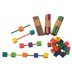 Construction Blocks N Sticks Assorted Colours, Pack of 135