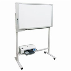 PLUS M17S Electronic Whiteboard With Mobile Stand And Printer 1300x910mm