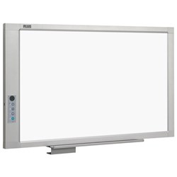 Plus M17S Electronic Whiteboard Wall Mounted B&W 1300x910mm