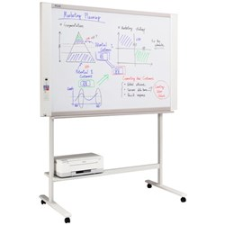 Plus N20S Electronic Whiteboard With Stand + Printer 1300x910mm