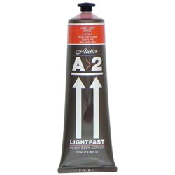 A2 Art Student Acrylic Paint 120ml Light Red Oxide