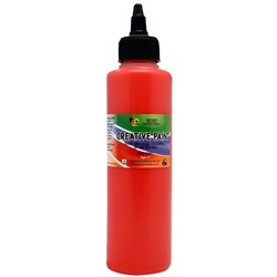 5 Star Creative Paint 250ml Bright Red