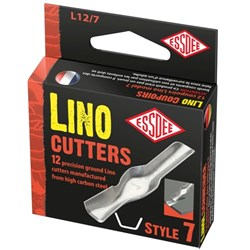 Lino Cutter Blades Size 7, Box of 12