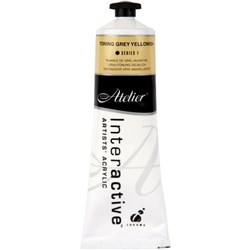 Atelier Interactive Acrylic Paint S1 80ml Toning Grey Yellowish