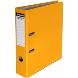 OfficeMax Lever Arch Board File A4 Yellow