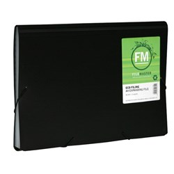 FM Eco Recycled Expanding File A4 13 Pocket