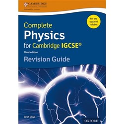Oxford Complete Physics for Cambridge IGCSE Revision Guide 9780198308744