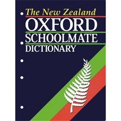 Oxford New Zealand Schoolmate Dictionary 9780195582383