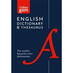 Collins Gem Dictionary & Thesaurus 9780008141714