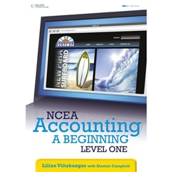 NCEA Accounting: A Beginning Textbook, Year 11, 9780170211055