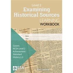 ESA Examining Historical Sources 2.3 Learning Workbook Level 2 9780947504939